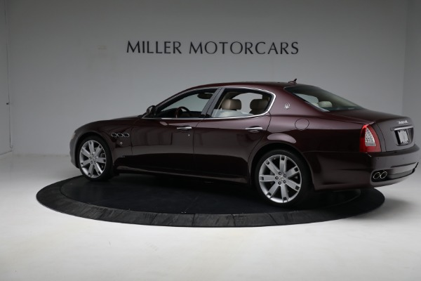 Used 2011 Maserati Quattroporte for sale $37,900 at Alfa Romeo of Greenwich in Greenwich CT 06830 5