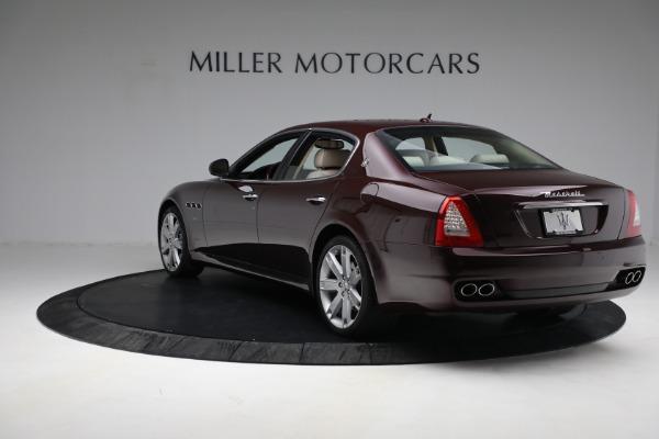 Used 2011 Maserati Quattroporte for sale $37,900 at Alfa Romeo of Greenwich in Greenwich CT 06830 6