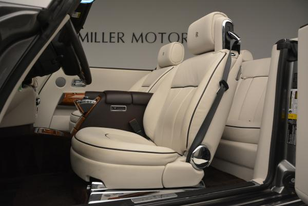 Used 2015 Rolls-Royce Phantom Drophead Coupe for sale Sold at Alfa Romeo of Greenwich in Greenwich CT 06830 26