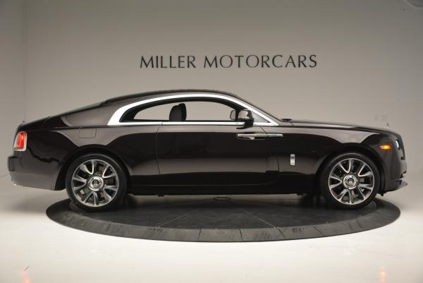 Used 2017 Rolls-Royce Wraith for sale Sold at Alfa Romeo of Greenwich in Greenwich CT 06830 8