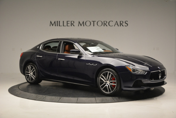 Used 2017 Maserati Ghibli S Q4 - EX Loaner for sale Sold at Alfa Romeo of Greenwich in Greenwich CT 06830 10
