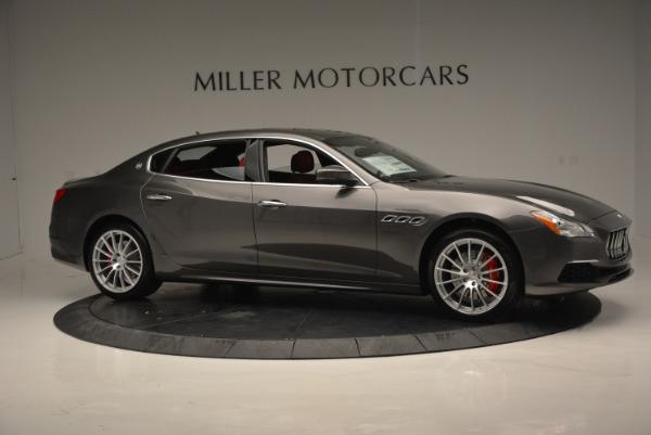New 2017 Maserati Quattroporte S Q4 GranLusso for sale Sold at Alfa Romeo of Greenwich in Greenwich CT 06830 10