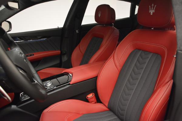 New 2017 Maserati Quattroporte S Q4 GranLusso for sale Sold at Alfa Romeo of Greenwich in Greenwich CT 06830 16