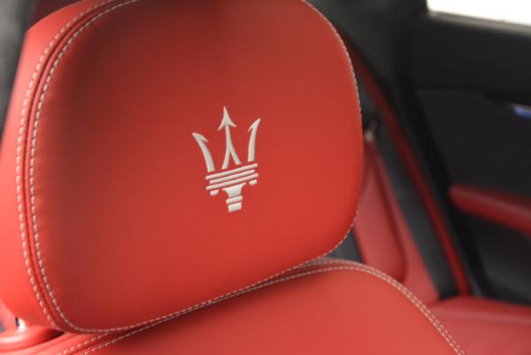 New 2017 Maserati Quattroporte S Q4 GranLusso for sale Sold at Alfa Romeo of Greenwich in Greenwich CT 06830 27