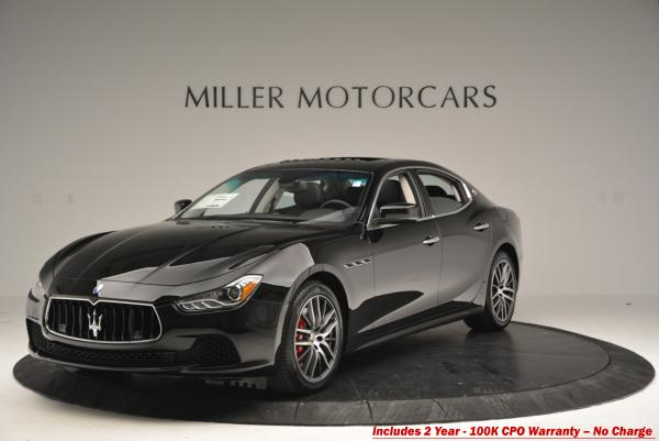 Used 2016 Maserati Ghibli S Q4 for sale Sold at Alfa Romeo of Greenwich in Greenwich CT 06830 1
