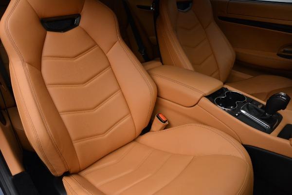 Used 2017 Maserati GranTurismo Sport for sale $74,900 at Alfa Romeo of Greenwich in Greenwich CT 06830 20