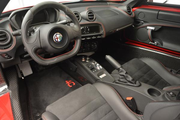 Used 2015 Alfa Romeo 4C Launch Edition for sale Sold at Alfa Romeo of Greenwich in Greenwich CT 06830 13