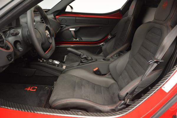 Used 2015 Alfa Romeo 4C Launch Edition for sale Sold at Alfa Romeo of Greenwich in Greenwich CT 06830 14