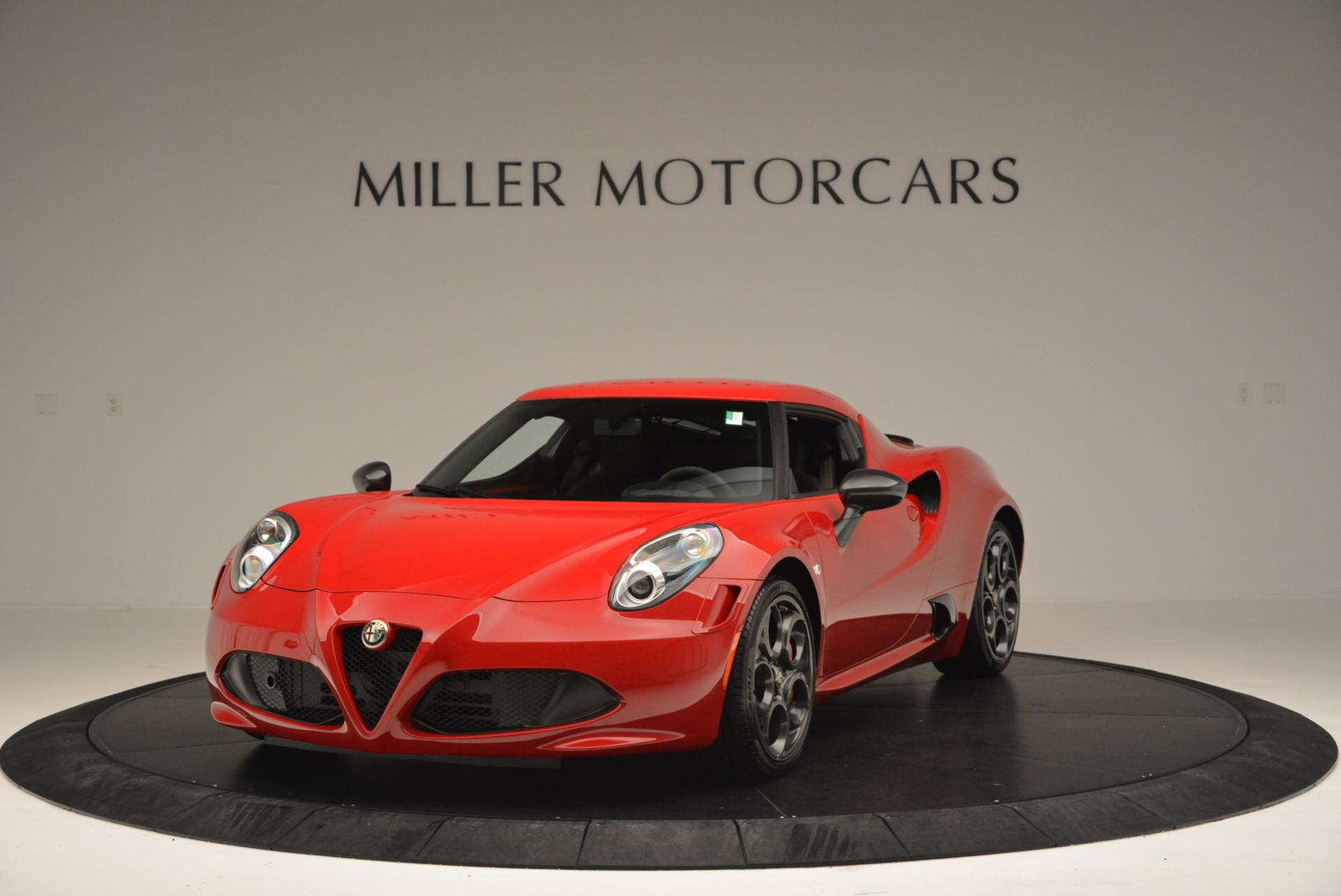 Used 2015 Alfa Romeo 4C Launch Edition for sale Sold at Alfa Romeo of Greenwich in Greenwich CT 06830 1