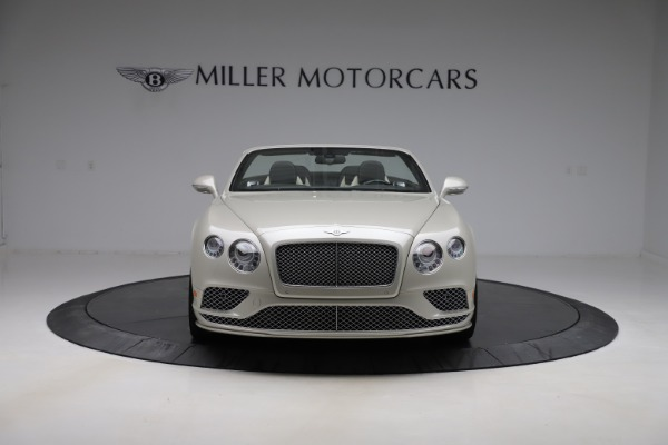 Used 2016 Bentley Continental GTC Speed for sale Sold at Alfa Romeo of Greenwich in Greenwich CT 06830 13