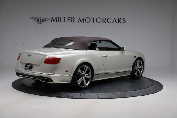 Used 2016 Bentley Continental GTC Speed for sale Sold at Alfa Romeo of Greenwich in Greenwich CT 06830 18