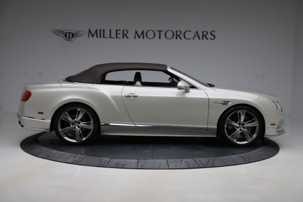 Used 2016 Bentley Continental GTC Speed for sale $149,900 at Alfa Romeo of Greenwich in Greenwich CT 06830 19