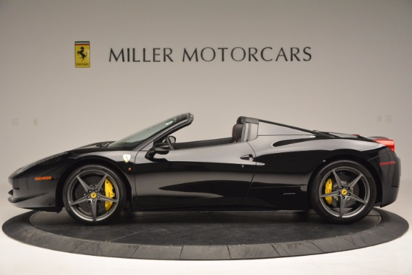 Used 2014 Ferrari 458 Spider for sale Sold at Alfa Romeo of Greenwich in Greenwich CT 06830 3