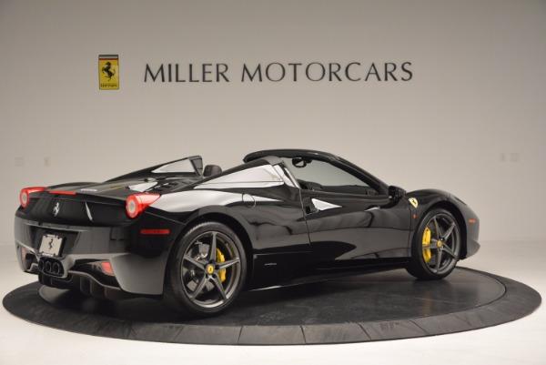 Used 2014 Ferrari 458 Spider for sale Sold at Alfa Romeo of Greenwich in Greenwich CT 06830 8
