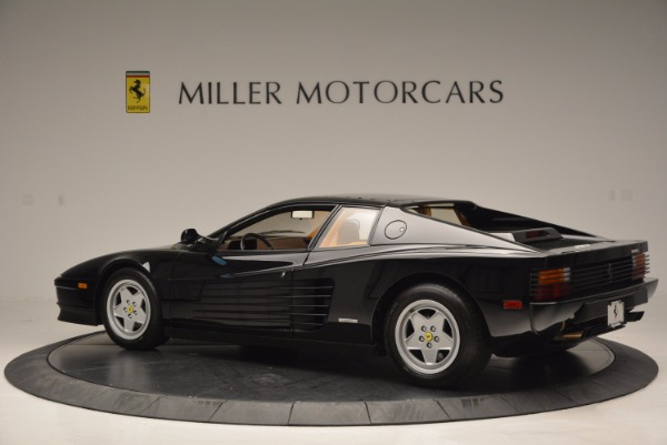 Used 1989 Ferrari Testarossa for sale Sold at Alfa Romeo of Greenwich in Greenwich CT 06830 4