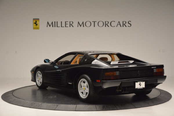Used 1989 Ferrari Testarossa for sale Sold at Alfa Romeo of Greenwich in Greenwich CT 06830 5