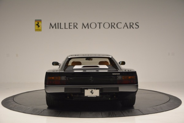 Used 1989 Ferrari Testarossa for sale Sold at Alfa Romeo of Greenwich in Greenwich CT 06830 6