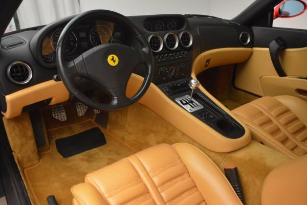 Used 2000 Ferrari 550 Maranello for sale Sold at Alfa Romeo of Greenwich in Greenwich CT 06830 13