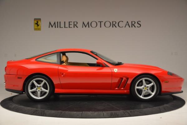 Used 2000 Ferrari 550 Maranello for sale Sold at Alfa Romeo of Greenwich in Greenwich CT 06830 9