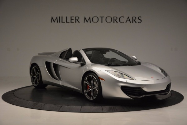 Used 2014 McLaren MP4-12C Spider for sale Sold at Alfa Romeo of Greenwich in Greenwich CT 06830 10