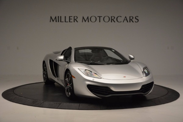 Used 2014 McLaren MP4-12C Spider for sale Sold at Alfa Romeo of Greenwich in Greenwich CT 06830 11