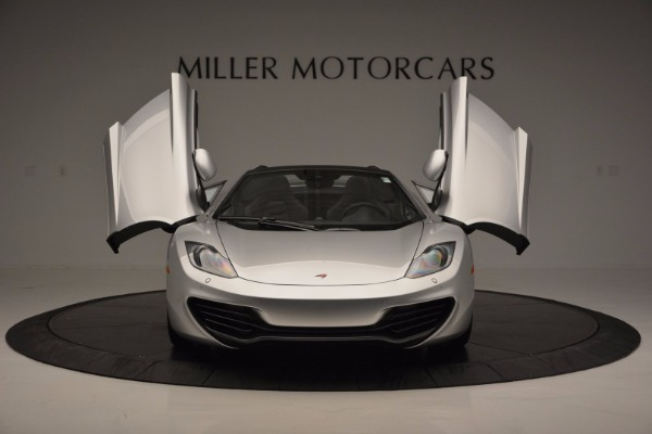Used 2014 McLaren MP4-12C Spider for sale Sold at Alfa Romeo of Greenwich in Greenwich CT 06830 13