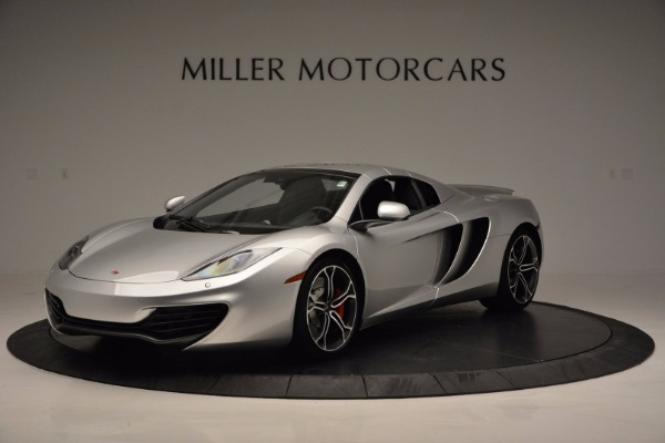 Used 2014 McLaren MP4-12C Spider for sale Sold at Alfa Romeo of Greenwich in Greenwich CT 06830 15
