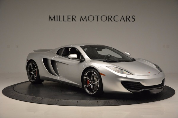 Used 2014 McLaren MP4-12C Spider for sale Sold at Alfa Romeo of Greenwich in Greenwich CT 06830 21