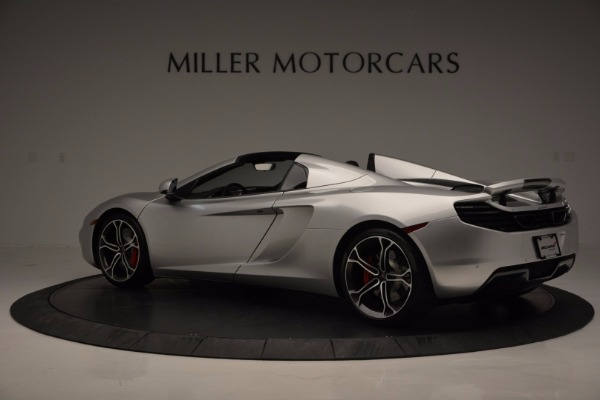 Used 2014 McLaren MP4-12C Spider for sale Sold at Alfa Romeo of Greenwich in Greenwich CT 06830 4
