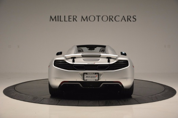 Used 2014 McLaren MP4-12C Spider for sale Sold at Alfa Romeo of Greenwich in Greenwich CT 06830 6