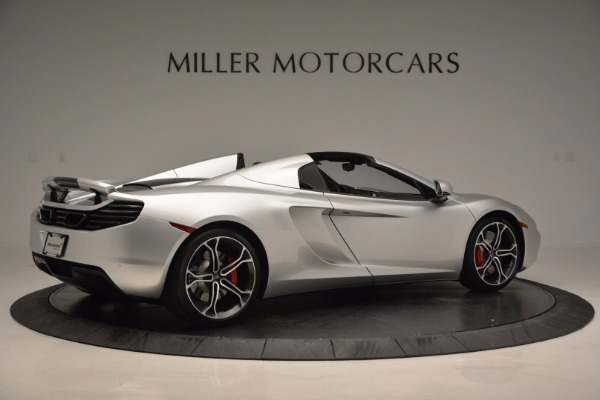 Used 2014 McLaren MP4-12C Spider for sale Sold at Alfa Romeo of Greenwich in Greenwich CT 06830 8