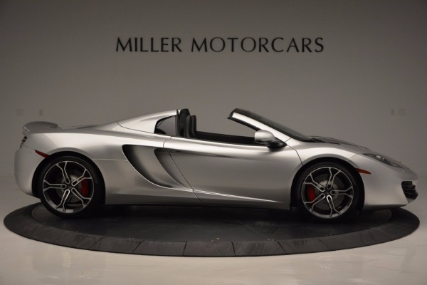 Used 2014 McLaren MP4-12C Spider for sale Sold at Alfa Romeo of Greenwich in Greenwich CT 06830 9