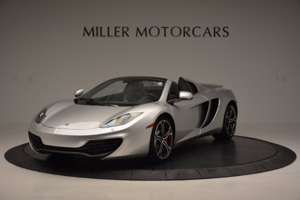 Used 2014 McLaren MP4-12C Spider for sale Sold at Alfa Romeo of Greenwich in Greenwich CT 06830 1