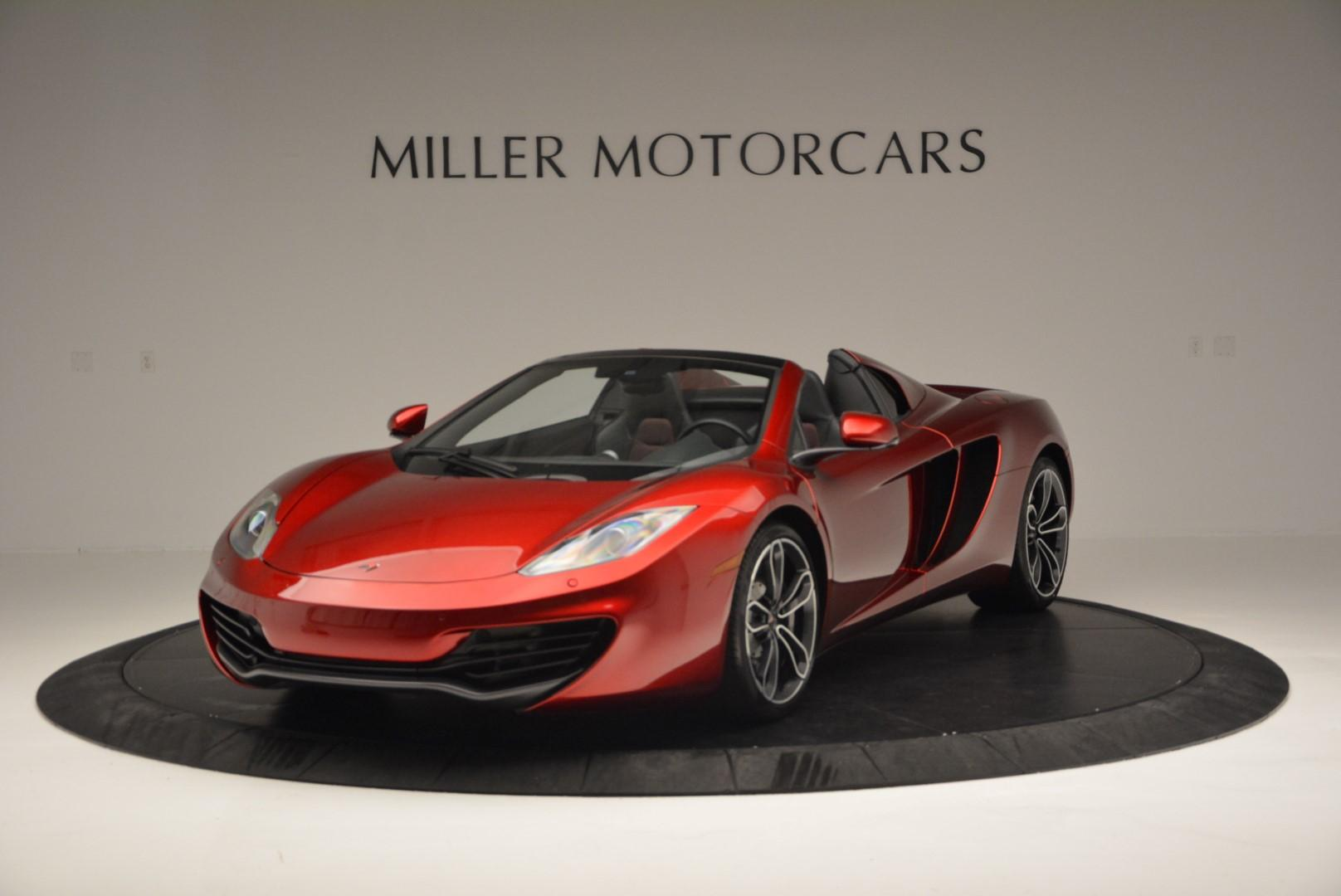 Used 2013 McLaren MP4-12C Base for sale Sold at Alfa Romeo of Greenwich in Greenwich CT 06830 1