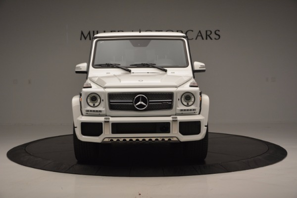 Used 2016 Mercedes Benz G-Class AMG G65 for sale Sold at Alfa Romeo of Greenwich in Greenwich CT 06830 12