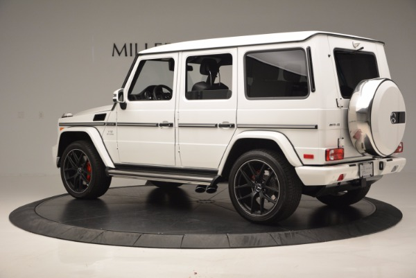 Used 2016 Mercedes Benz G-Class AMG G65 for sale Sold at Alfa Romeo of Greenwich in Greenwich CT 06830 4