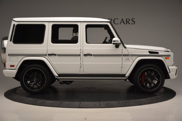 Used 2016 Mercedes Benz G-Class AMG G65 for sale Sold at Alfa Romeo of Greenwich in Greenwich CT 06830 9