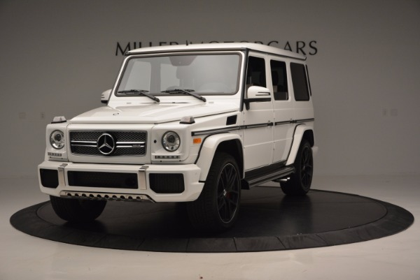 Used 2016 Mercedes Benz G-Class AMG G65 for sale Sold at Alfa Romeo of Greenwich in Greenwich CT 06830 1