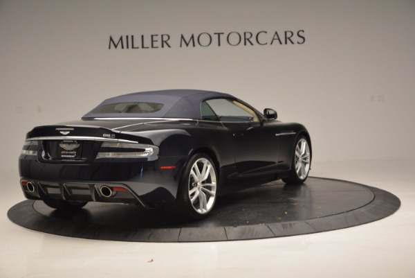 Used 2012 Aston Martin DBS Volante for sale Sold at Alfa Romeo of Greenwich in Greenwich CT 06830 19