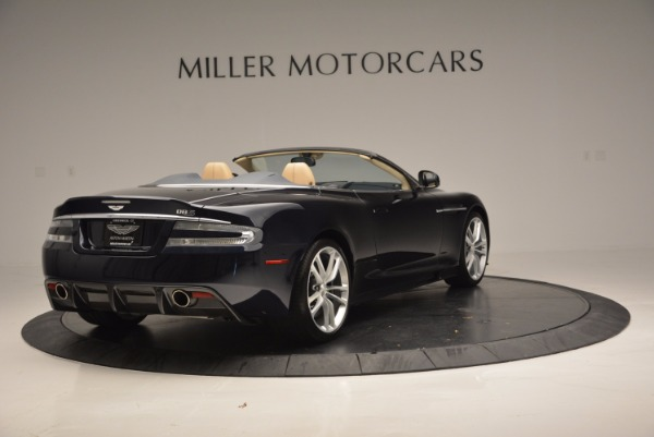 Used 2012 Aston Martin DBS Volante for sale Sold at Alfa Romeo of Greenwich in Greenwich CT 06830 7