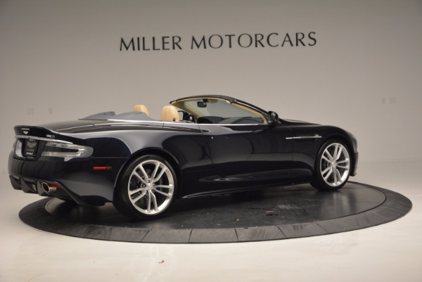 Used 2012 Aston Martin DBS Volante for sale Sold at Alfa Romeo of Greenwich in Greenwich CT 06830 8