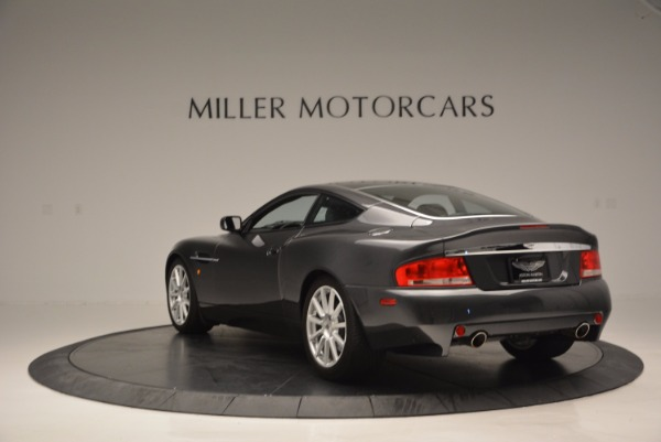 Used 2005 Aston Martin V12 Vanquish S for sale Sold at Alfa Romeo of Greenwich in Greenwich CT 06830 5