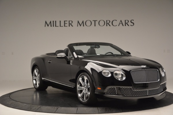 Used 2013 Bentley Continental GTC for sale Sold at Alfa Romeo of Greenwich in Greenwich CT 06830 12