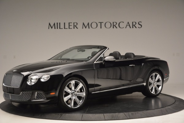 Used 2013 Bentley Continental GTC for sale Sold at Alfa Romeo of Greenwich in Greenwich CT 06830 2
