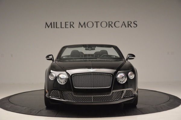 Used 2013 Bentley Continental GTC for sale Sold at Alfa Romeo of Greenwich in Greenwich CT 06830 3