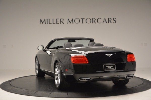 Used 2013 Bentley Continental GTC for sale Sold at Alfa Romeo of Greenwich in Greenwich CT 06830 6