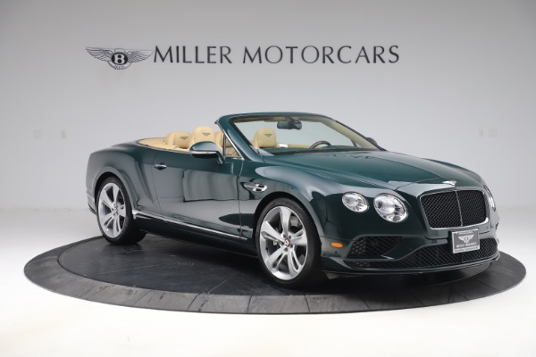 Used 2017 Bentley Continental GTC V8 S for sale $145,900 at Alfa Romeo of Greenwich in Greenwich CT 06830 11