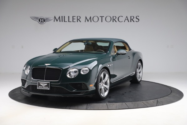 Used 2017 Bentley Continental GTC V8 S for sale $145,900 at Alfa Romeo of Greenwich in Greenwich CT 06830 13