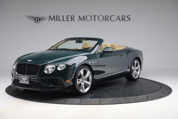 Used 2017 Bentley Continental GTC V8 S for sale $139,900 at Alfa Romeo of Greenwich in Greenwich CT 06830 2