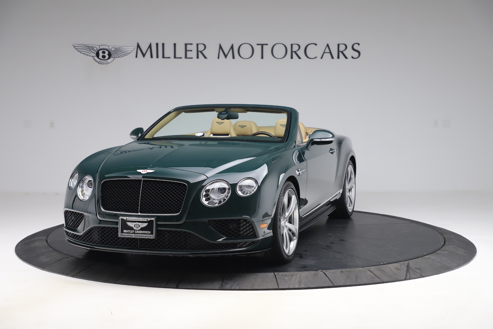 Used 2017 Bentley Continental GTC V8 S for sale $145,900 at Alfa Romeo of Greenwich in Greenwich CT 06830 1